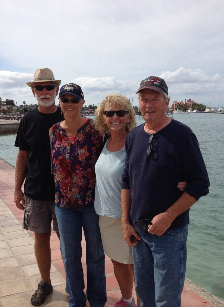 Old friends in new places - Debbie and Dan Lewis